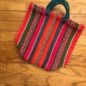 Medium Size Straw Bag perfect for summer!